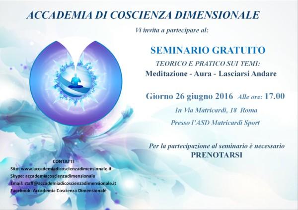 seminario roma 26.06.2016