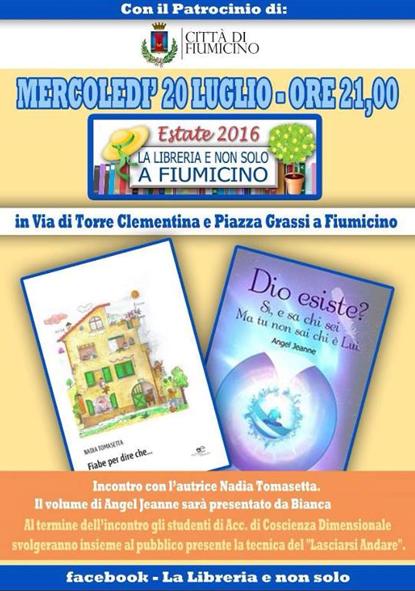 presentazione libri Roma 20.07.2016